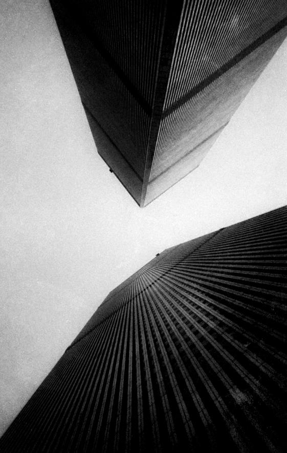 World Trade Center by Minoru Yamasaki, New York City 1997