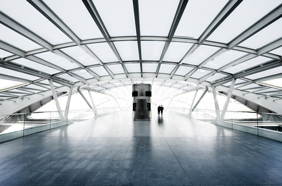 Expo '98, Lisbon, Portugal by architect Santiago Calatrava