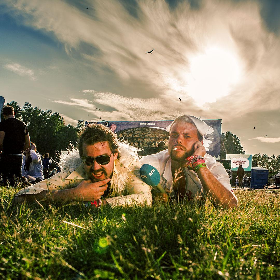 Festivalhjelpen with Olli & Lars