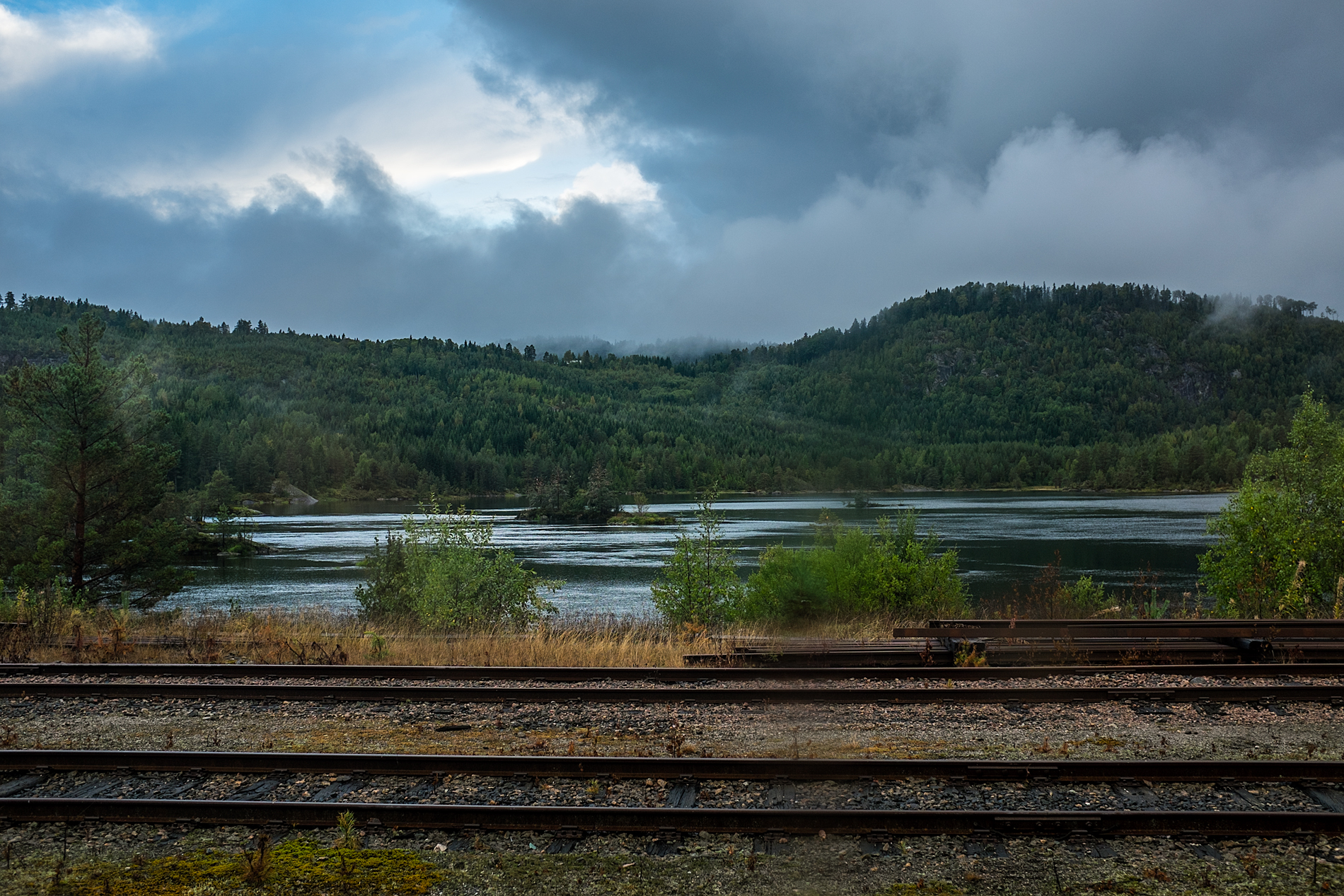 Day 260 – Tuesday September 17 – Train from Egersund to Oslo; Somewhere..