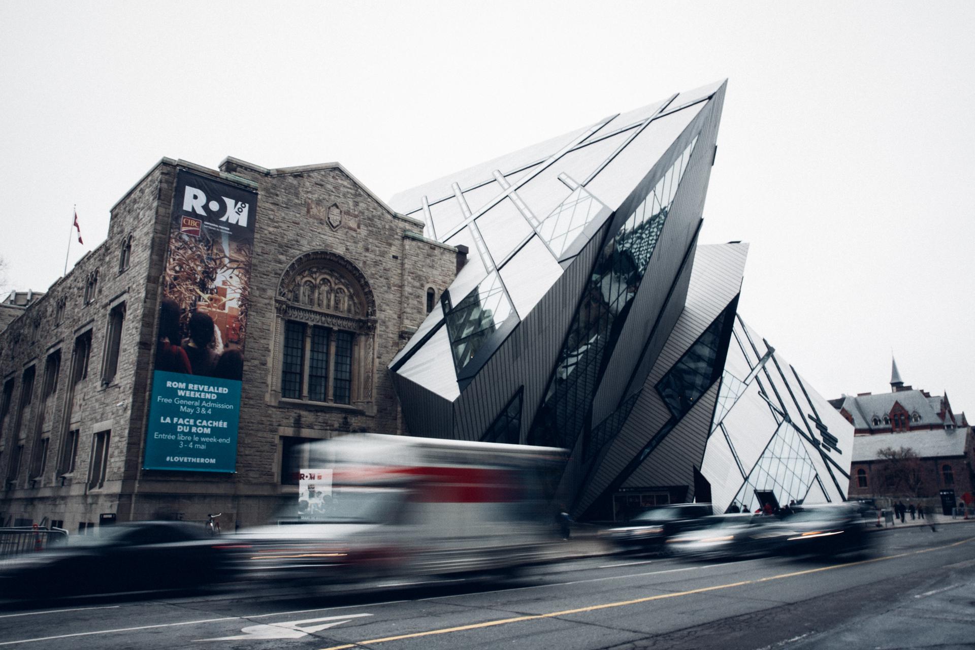 Toronto: Royal Ontario Museum - ROM Toronto by Frank Darling and John A. Pearson