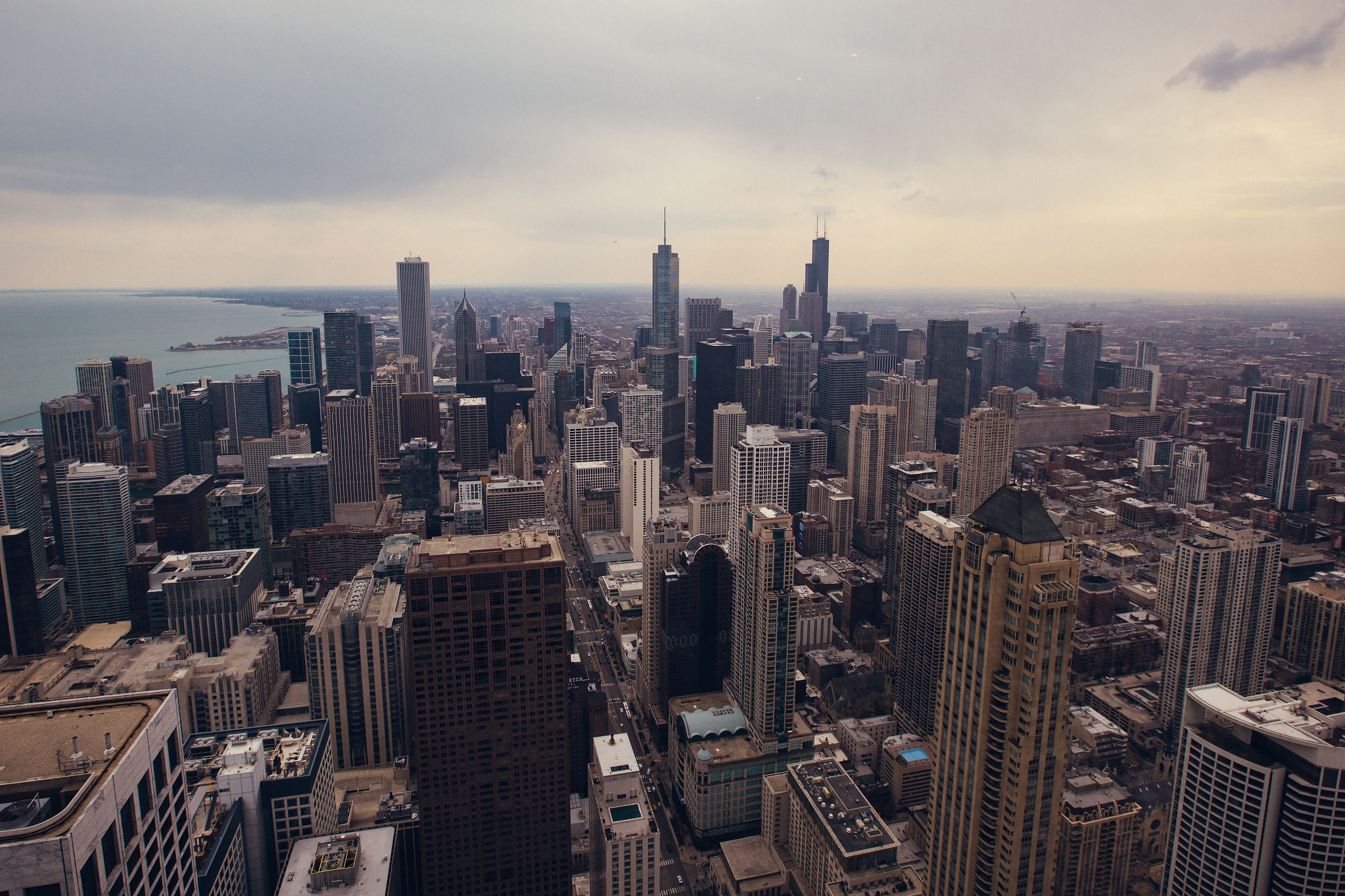 Chicago from the John Hancock Center