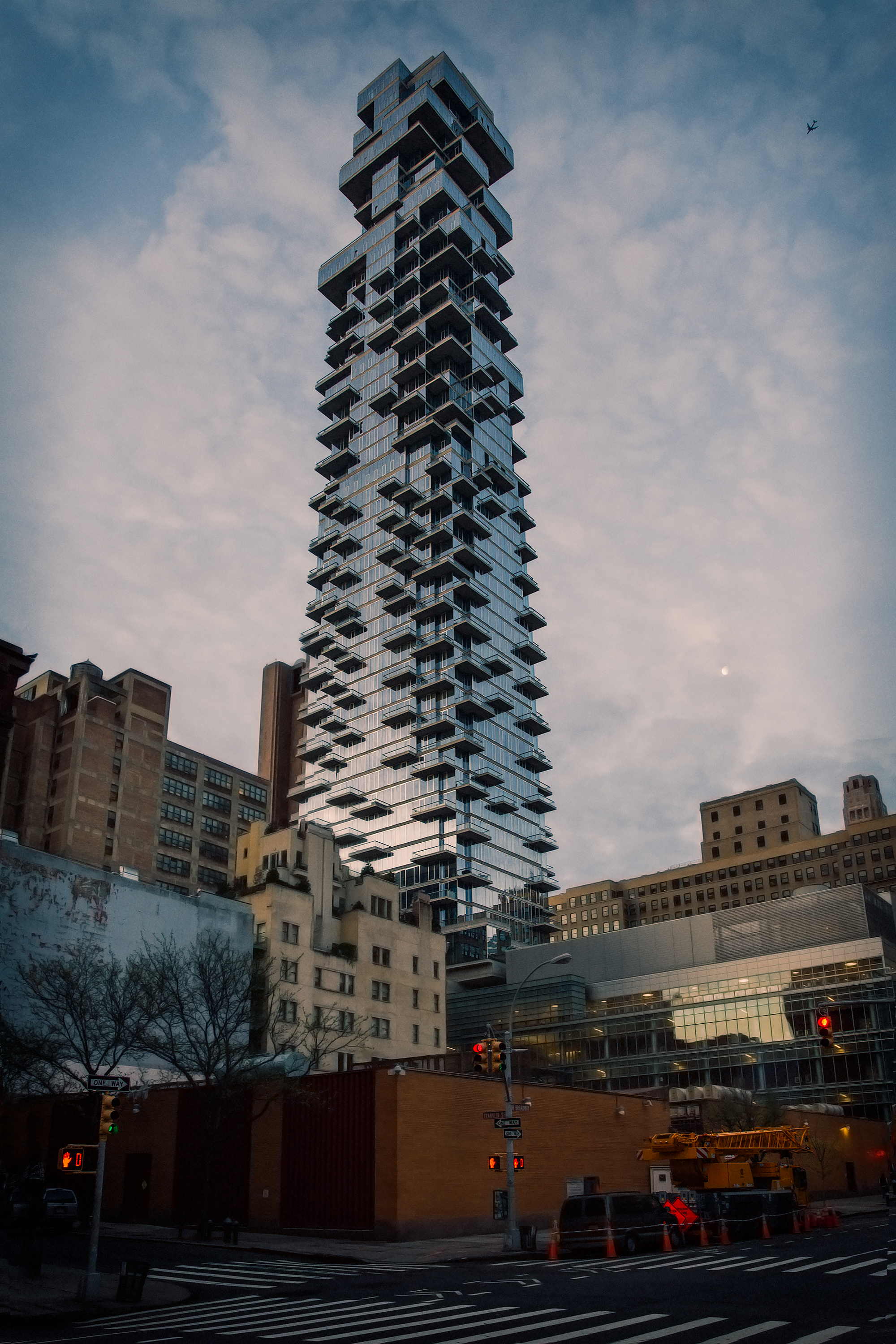 The Jenga Tower @ 56 Leonard Street