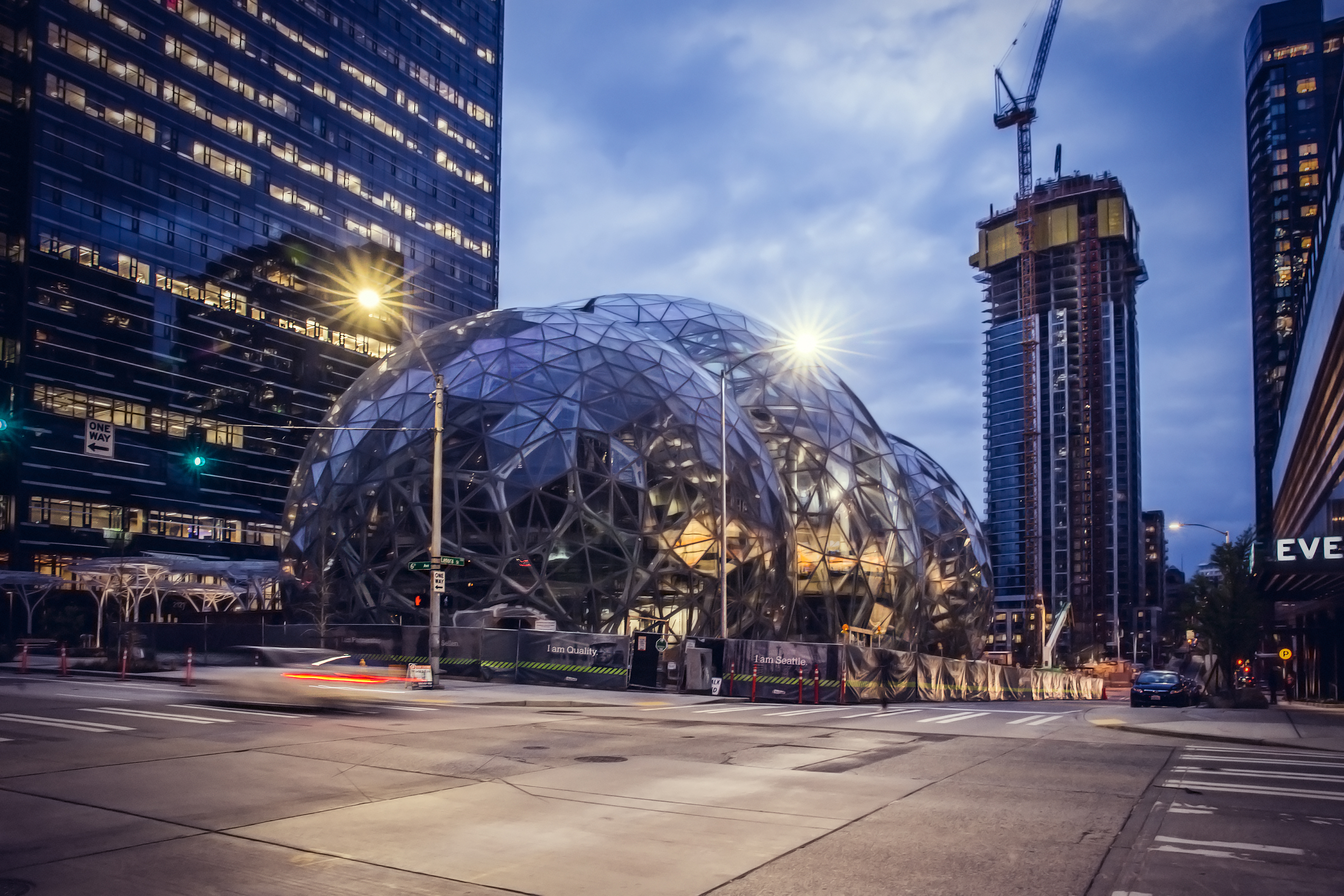 Amazon Biosphere, Seattle