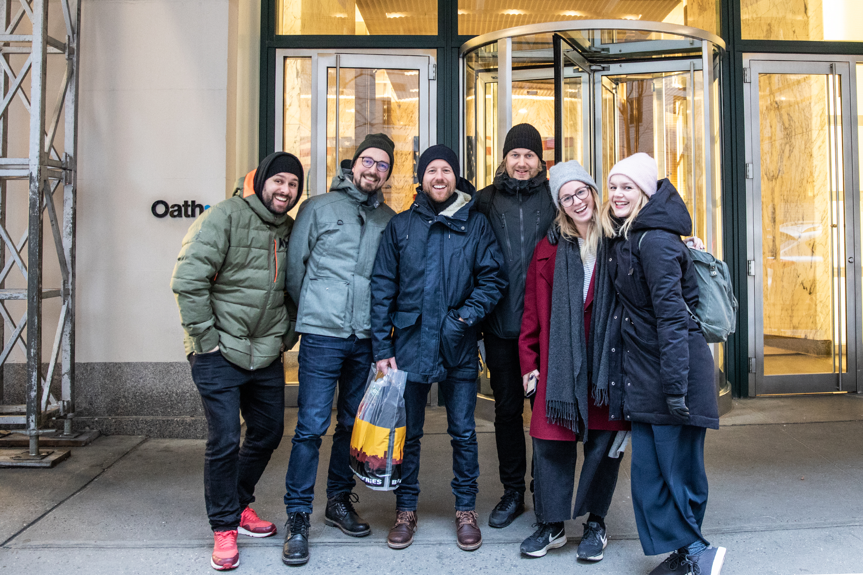 Rashid, Mattis, Jan Henrik, Tom, Thea & Ellen