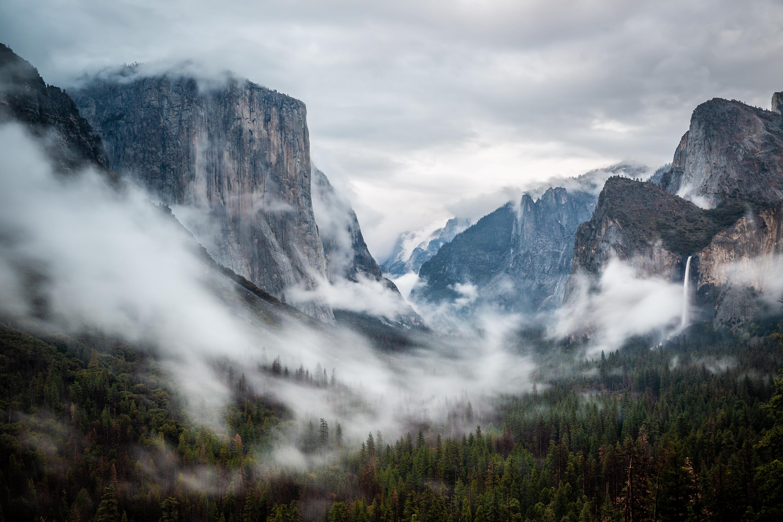 Sunset at Tunnel View, Yosemite