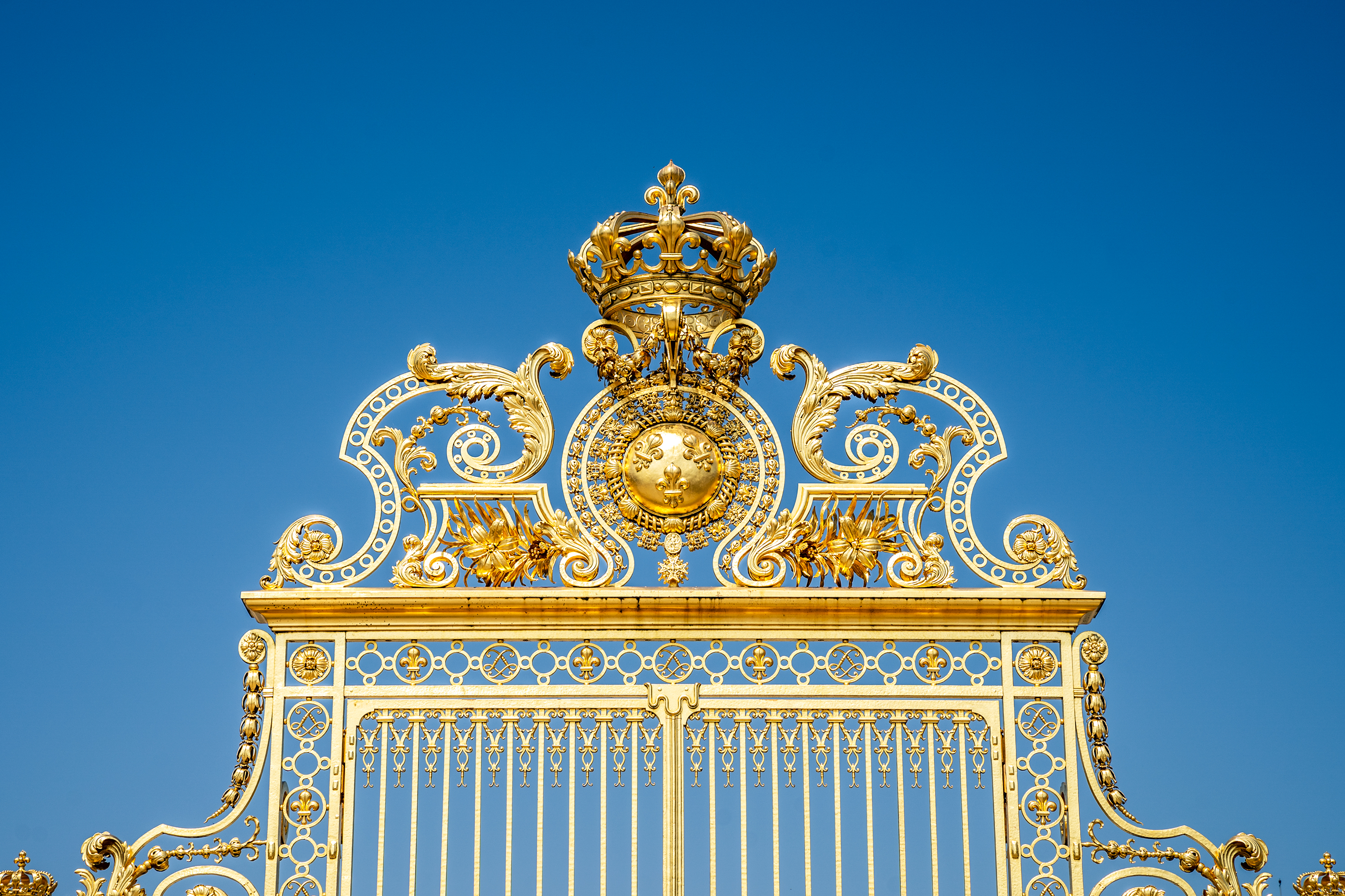 I went to Versailles and all I saw......