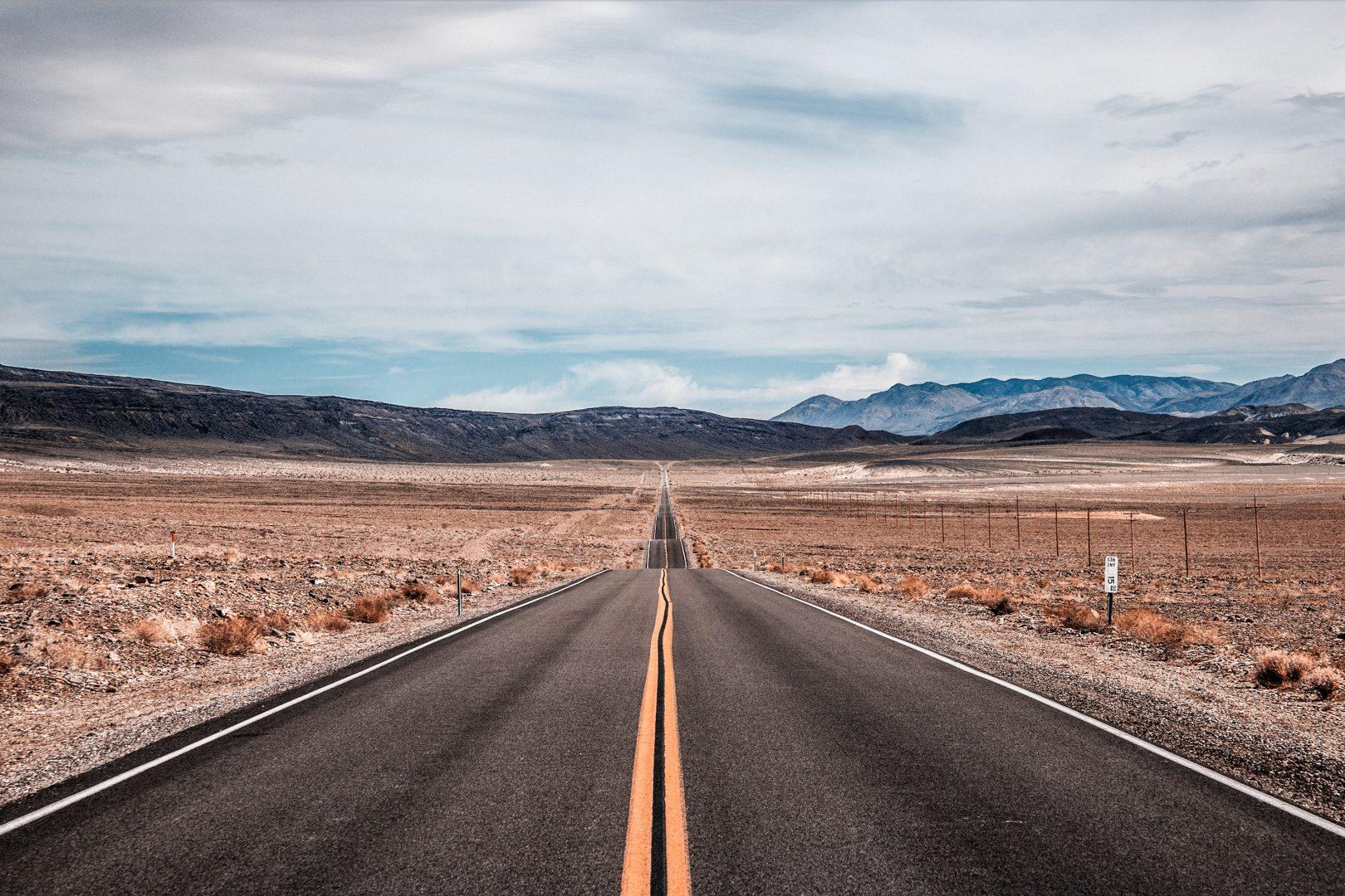 Exiting Death Valley