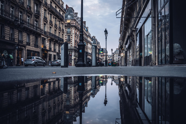 Paris early morning