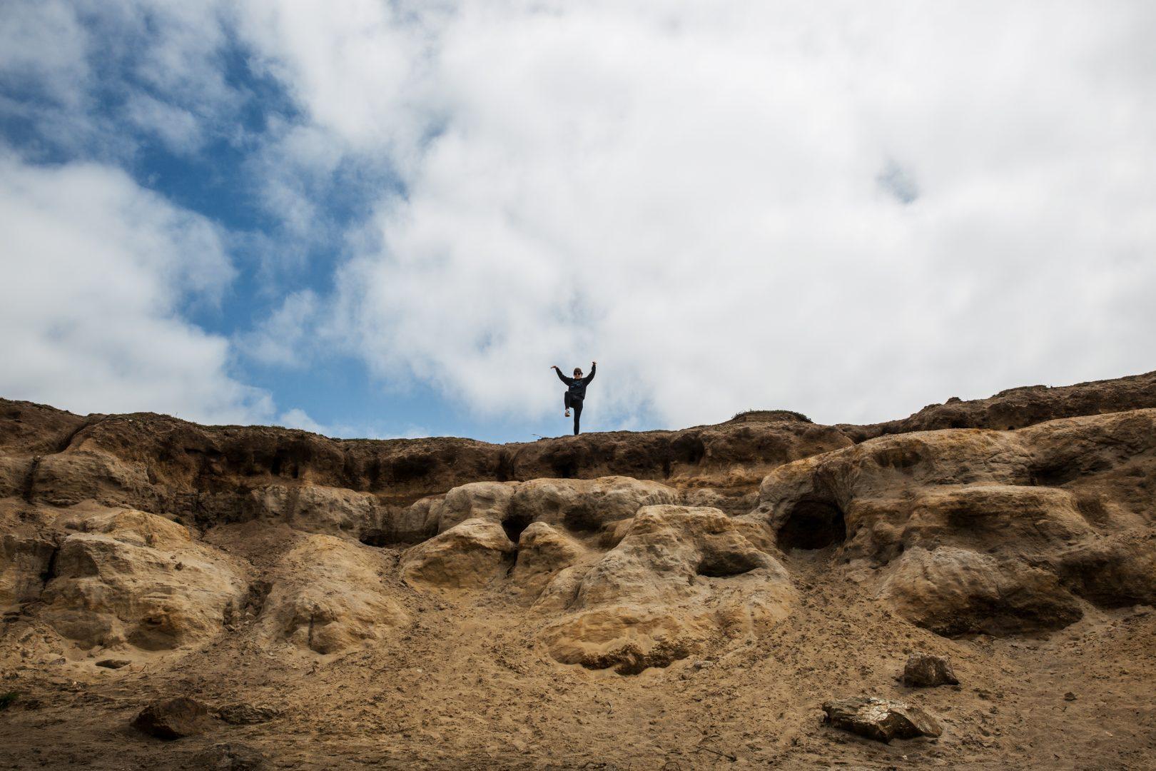 Karate Kid @ Glass Beach, Fort Bragg California