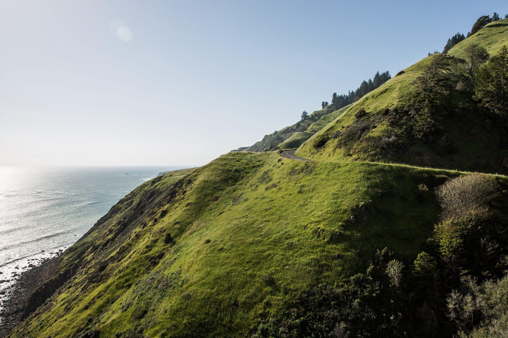 Highway 1 north of San Francisco